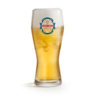 Speciaal bedrukt bierglas